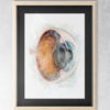 Eyeball Cross-section Watercolor in frame 2