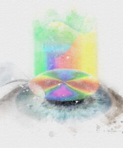 lasik surgeon gift wavefront lasik art print