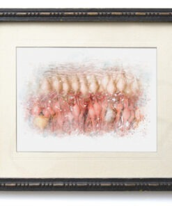 Watercolor Rods and Cones framed art print